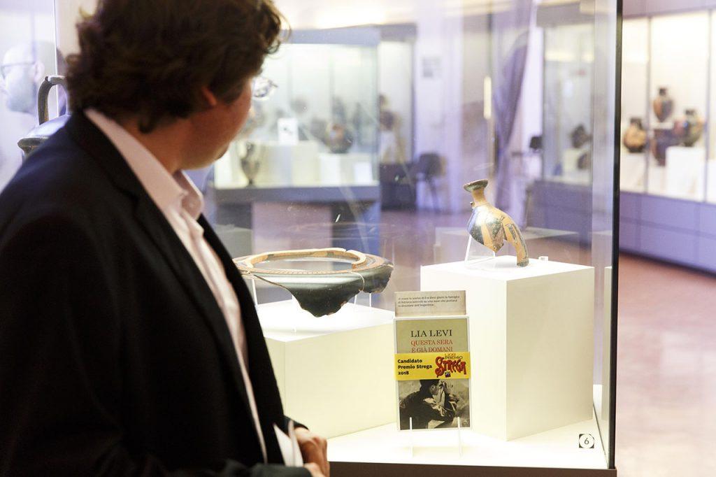 Gli autori finalisti al Museo Etrusco di Villa Giulia
