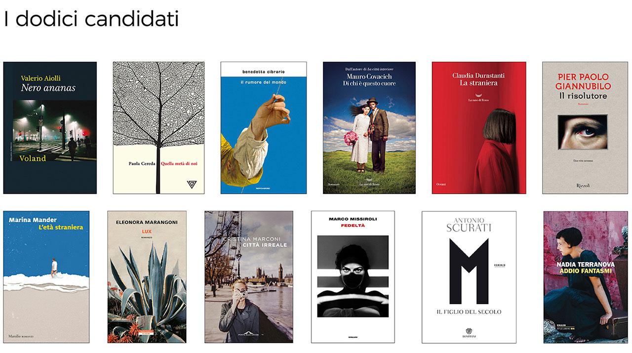 i dodici libri candidati