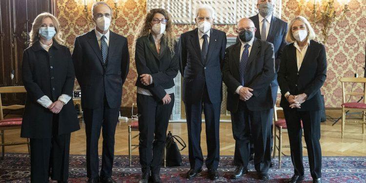 immagine per Il Presidente della Repubblica riceve il Comitato direttivo del Premio Strega