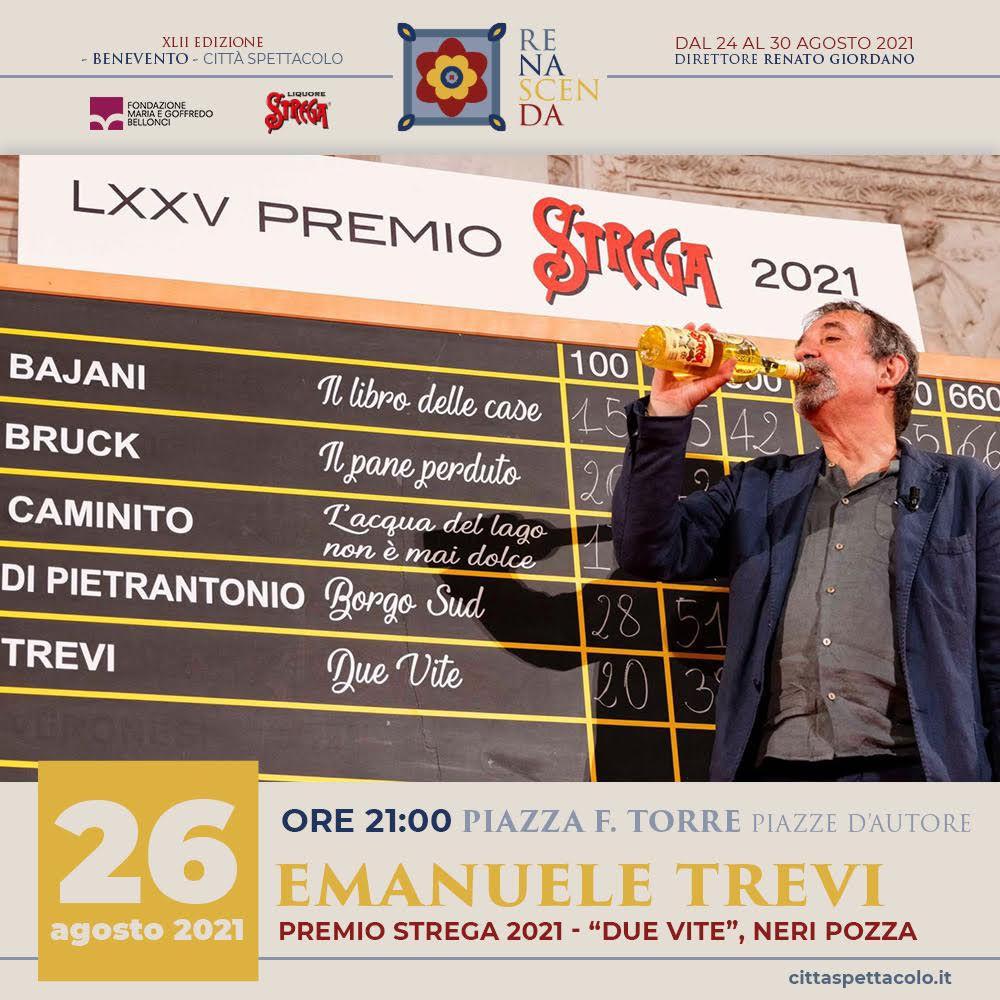 immagine per Incontro con il vincitore del Premio Strega 2021 a Benevento Città Spettacolo