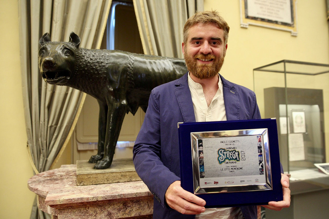 Paolo Cognetti vincitore del Premio Strega Giovani 2017