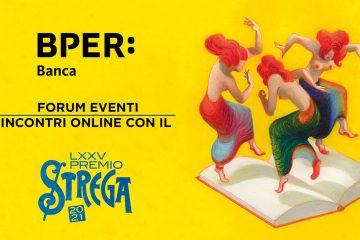 immagine per BPER Forum Guido Monzani incontri online con il Premio Strega 2021